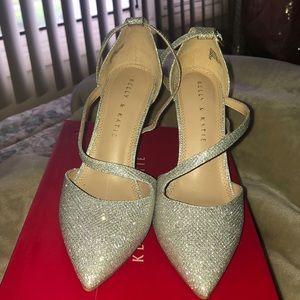 Women's Silver High Heels